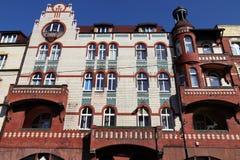 Città di Swietochlowice, Polonia fotografie stock