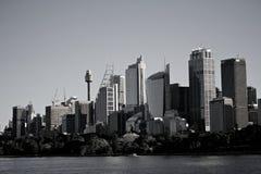 Città di Sydney Fotografie Stock Libere da Diritti