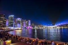Città di Sydney su Sydney viva 2017 Immagine Stock Libera da Diritti