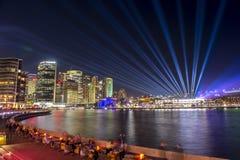 Città di Sydney su Sydney viva 2017 Immagini Stock
