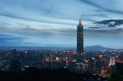Città di Taipeh Immagine Stock