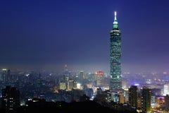 Città di Taipei fotografia stock