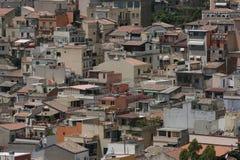 Città di Taormina, Sicilia Immagini Stock Libere da Diritti
