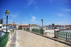 Città di Tavira, Portogallo. Fotografia Stock Libera da Diritti