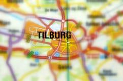 Città di Tilburg - i Paesi Bassi fotografie stock
