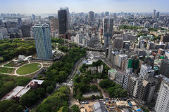 Città di Tokyo Giappone Fotografia Stock