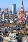 Città di Tokyo, Giappone immagini stock libere da diritti