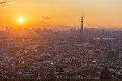 Città di Tokyo, Giappone Immagine Stock Libera da Diritti