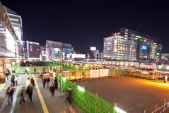 Città di Tokyo illuminata Fotografia Stock
