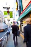 Città di Tokyo nel movimento Immagini Stock