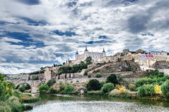 Città di Toledo Immagini Stock Libere da Diritti