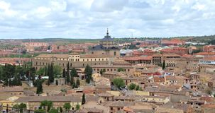 Città di Toledo Spain fotografie stock libere da diritti