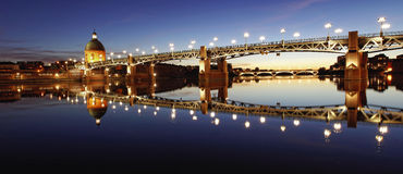 Città di Tolosa, Francia Immagine Stock Libera da Diritti