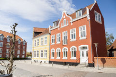 Città di Tonder - Danimarca Immagini Stock Libere da Diritti