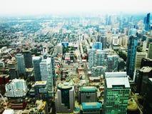 Città di Toronto fotografie stock libere da diritti