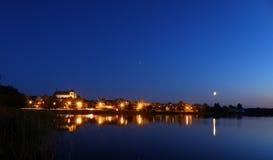 Città di Trakai Fotografia Stock