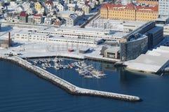 Città di Tromso Fotografia Stock