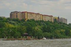 Città di Tulcea ed il Danubio 4 immagini stock libere da diritti