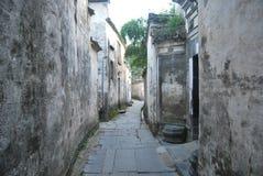 Città di Tunxi, Huangshan, l'Anhui, Cina fotografie stock libere da diritti