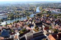 Città di Ulm Fotografia Stock Libera da Diritti