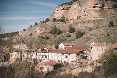 Città di Ura, Burgos Immagine Stock Libera da Diritti