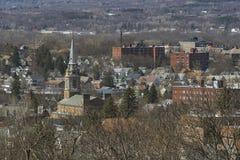 Città di Utica, Upstate New York fotografie stock