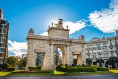 Città di Valencia - colpi della Spagna - viaggio Europa Fotografie Stock Libere da Diritti