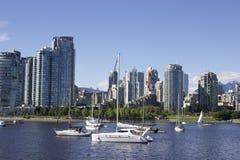 Città di Vancouver Fotografie Stock