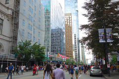 Città di Vancouver, Canada Fotografia Stock Libera da Diritti