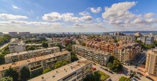 Città di Varna fotografia stock libera da diritti