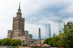 Città di Varsavia Fotografia Stock Libera da Diritti