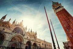 Città di Venezia ad estate L'Italia, Europa fotografie stock