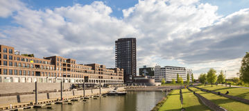 Città di Venlo nei Paesi Bassi Fotografie Stock Libere da Diritti