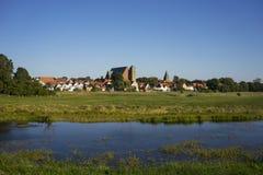 Città di Verden in Bassa Sassonia Fotografia Stock Libera da Diritti