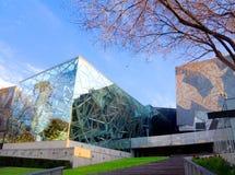 Città di vetro e della pietra Immagine Stock