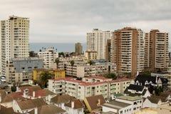Città di Viña Del Mar, Cile fotografia stock libera da diritti