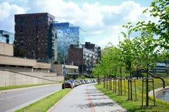 Città di Vilnius - capitale della Lituania - vita Fotografia Stock