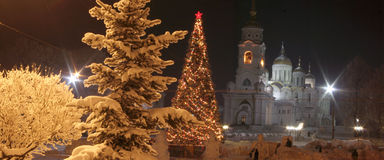 Città di Vladimir Fotografia Stock Libera da Diritti