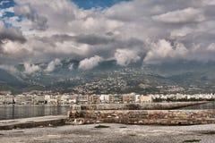 Città di Volos Immagini Stock