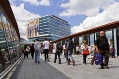 Città di Westfield Stratford Fotografie Stock