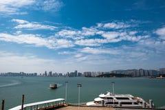 Città di Xiamen Fotografie Stock Libere da Diritti