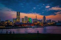 Città di Yokoham Fotografie Stock