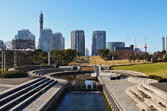 Città di Yokohama fotografie stock libere da diritti