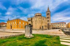 Città di Zadar in Croazia, Europa Immagini Stock Libere da Diritti