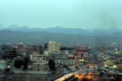 Città di Zakho Fotografia Stock