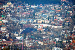 Città di Zakopane Fotografia Stock Libera da Diritti