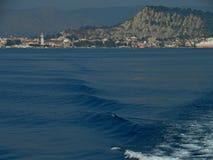 Città di Zante Isola di Zacinto La Grecia Fotografie Stock