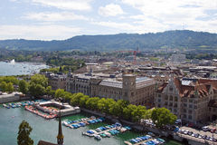 Città di Zurigo Immagini Stock