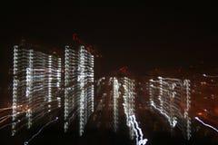 Città digitali di Skelatal Fotografia Stock Libera da Diritti