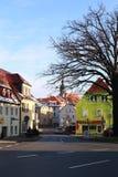 Città Dippoldiswalde, Sassonia, Germania Fotografia Stock Libera da Diritti